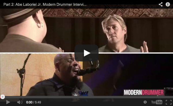 VIDEO - Part 2: Paul McCartney Drummer Abe Laboriel Jr. Interview