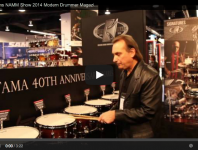 VIDEO - Tama Drums NAMM Show 2014 New Gear Coverage