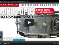 Product Close-Up: Magnus Opus FiBro-Tone Snare Drums (April 2014 ...