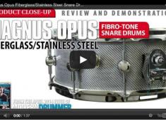 Check out the Magnus Opus FiBro-Tone fiberglass/steel and carbon fiber/steel snares.