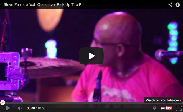 "VIDEO – Steve Ferrone and Questlove Play ""Pick Up the Pieces"" at Guitar Center's 2014 Drum-Off Finals"