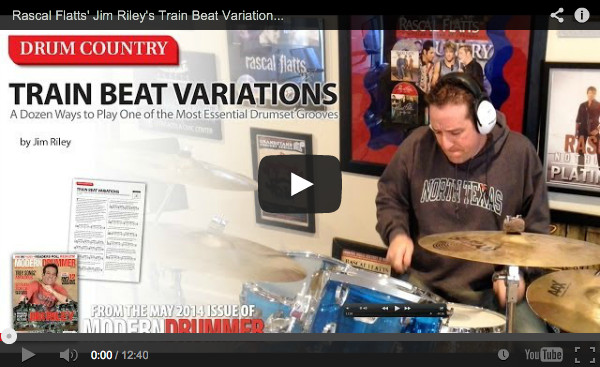 VIDEO! Drum Country: Train Beat Variations (From the May 2014 Issue)