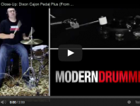 VIDEO! Product Close-Up: Dixon Cajon Pedal Plus (From the June 20...