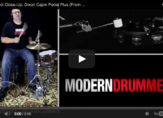 Click here to check out our review of the new Dixon Cajon Pedal Plus, which is featured in the June 2014 issue....