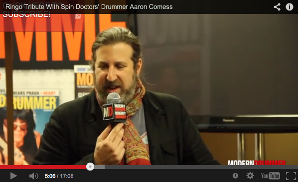 Ringo Tribute With Spin Doctors Drummer Aaron Comess