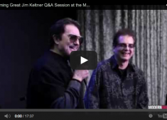 In this video <em>Modern Drummer</em>'s Billy Amendola sat down with legendary drummer Jim Keltner at the <em>Modern Drummer</em>/Rock & Roll Fantasy Camp, which took place in November of 2013, to have a conversation about Ringo Starr, the Traveling Wiiburys, recording with George Harrison, John Lennon, Bob Dylan, his unique drumming technique, his view on double drumming, and more. The interview is shown here in it's entirety for the first time.