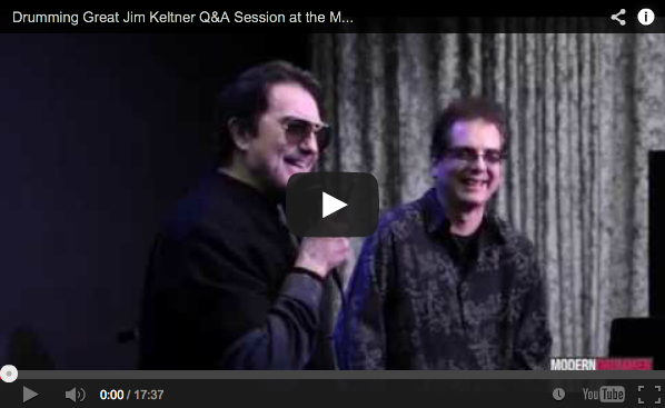 Video! Drumming Great Jim Keltner Q&A Session at the Modern Drummer/Rock & Roll Fantasy Camp