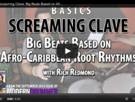 <b>VIDEO! Screaming Clave: Big Beats Based on Afro-Caribbean Root Rhythms (From the September 2014 Issu...</b>