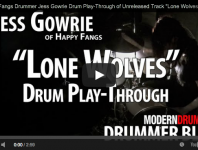 Drummer Blog: Happy Fangs' Jess Gowrie Shares Play-Through Vide...