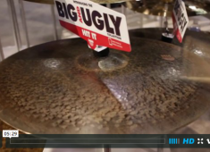 In this video from NAMM 2015, Mark Love, product specialist at Sabian, demonstrates the new Big and Ugly series of cymbals including the AA Apollo, HH Nova, HH King, HHX Phoenix, HH Pandora, and XS20 Monarch....