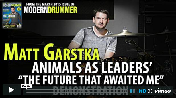 "Video: Matt Garstka Demonstrates Animals as Leaders' ""The Future That Awaited Me"""