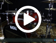All of Natal's drumkits have the same quality components; it's the species of wood that distinguishes one range from another. We tested a walnut kit. Click here to check it out.