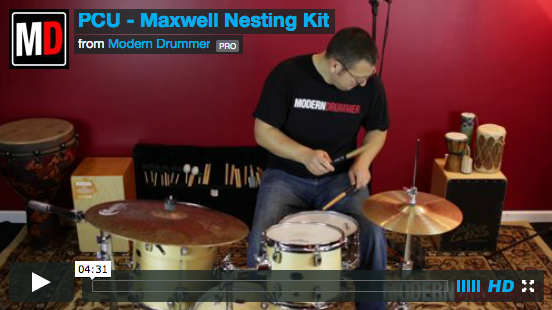 VIDEO DEMO! Maxwell Drums Nesting Kit