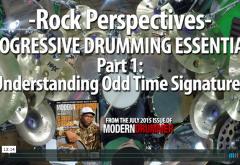 VIDEO LESSON! Progressive Drumming Essentials, Part 1: Understanding Odd Time Signatures