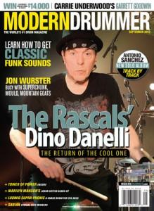 Dino Danelli Drummer | Modern Drummer Archive