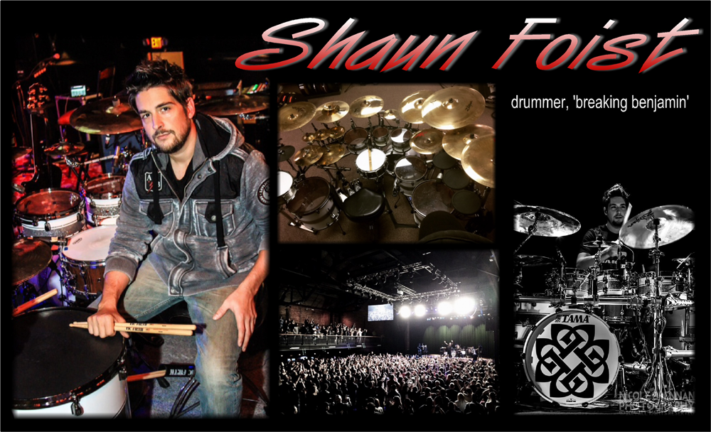 Drummer Blog: Breaking Benjamin's Shaun Foist Talks Touring and Presenting Your Best on YouTube