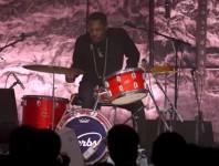 Steve Jordan And The Verbs Perform At Guitar Center's 26th Annu...
