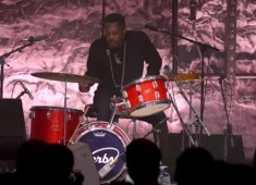 Guitar Center's 26th Annual Drum-Off Finals took place this past January 17, at Club Nokia in Los Angeles. Gregg Bissonette hosted the event, which included five finalists facing off in a drum-solo showcase.