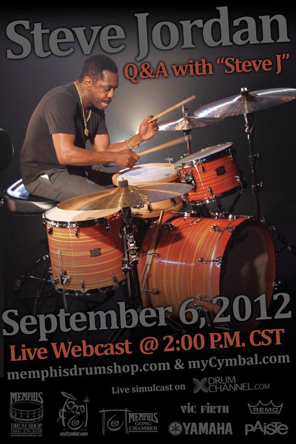 Steve Jordan Live Webcast and Q&A
