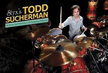 drummer Todd Sucherman of Styx