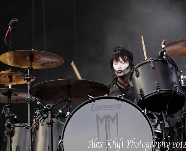 Jason Sutter of Marilyn Manson Drummer Blog