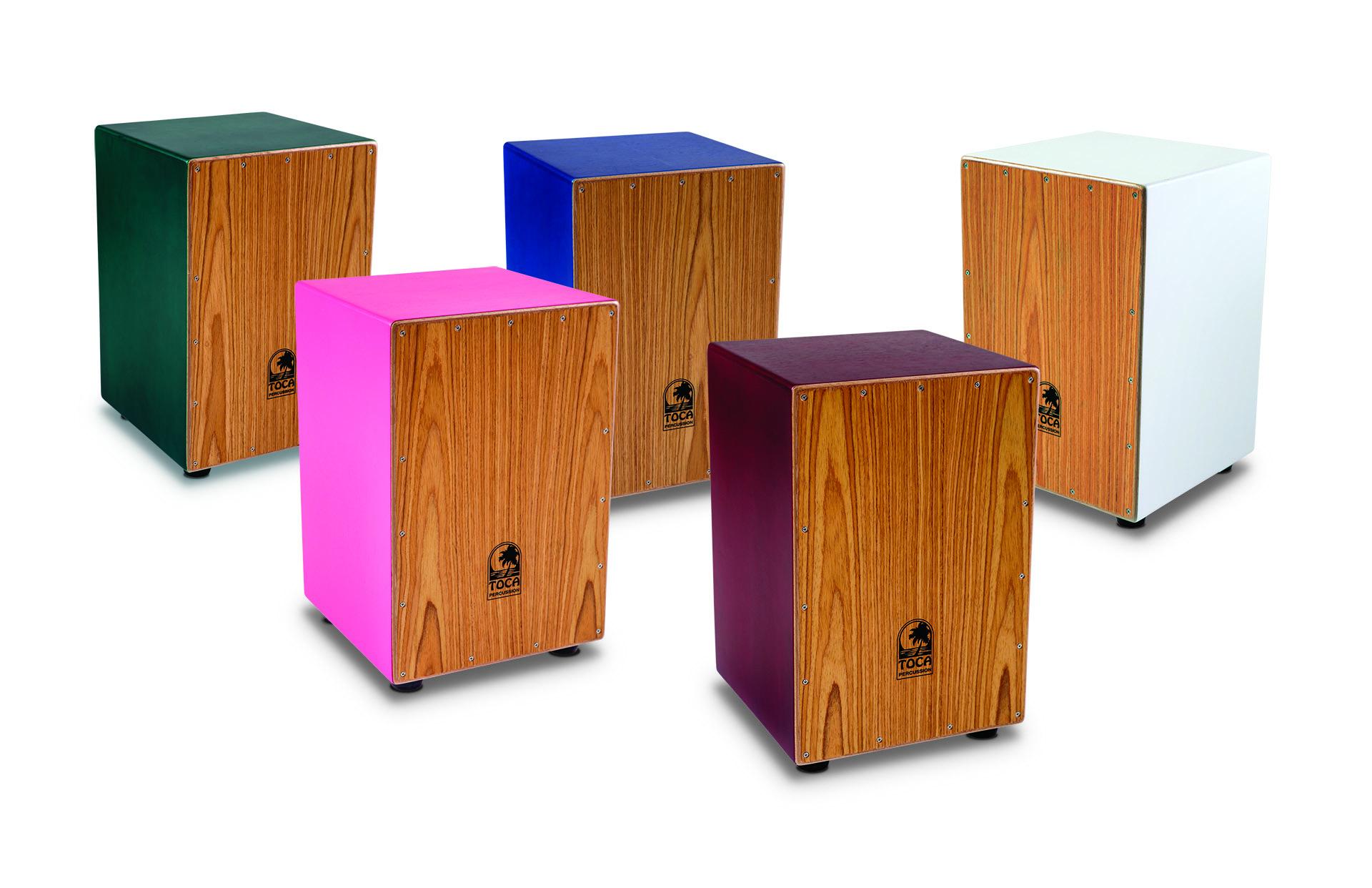 Showroom: Toca Introduces Entry-Level Colorsound Cajons