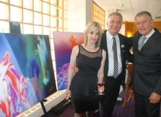 Carl Palmer, one of rock's iconic figures, and a founding member of Emerson, Lake and Palmer and Asia, in association with Los Angeles art company Scene Four, recently completed a three-day run of art exhibits in Rochester, NY, Bath, PA, and Philadelphia PA on May 2, 3, and 4, respectively....