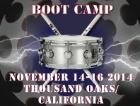 <b>Thomas Lang Drumming Boot Camp Dates Announced</b>
