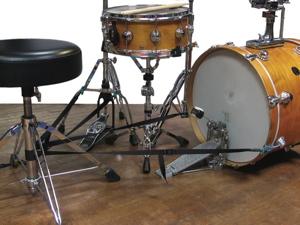 TRAPSTRAP Bass Drum/Hi-Hat Stability Device Modern Drummer