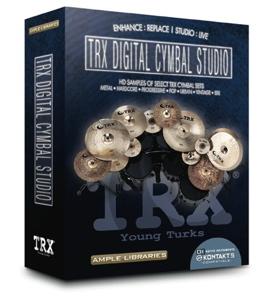 TRX Digital Cymbal Studio and NRG Series