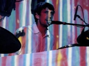 Drummer Tim Walsh of the Stepkids