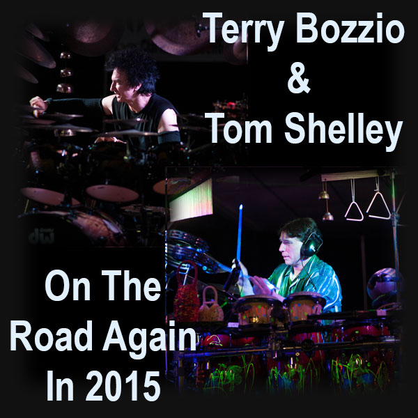 "News: Terry Bozzio and Tom Shelley Hitting the Road in 2015 With Their ""Drums and Percussion"" Tour"