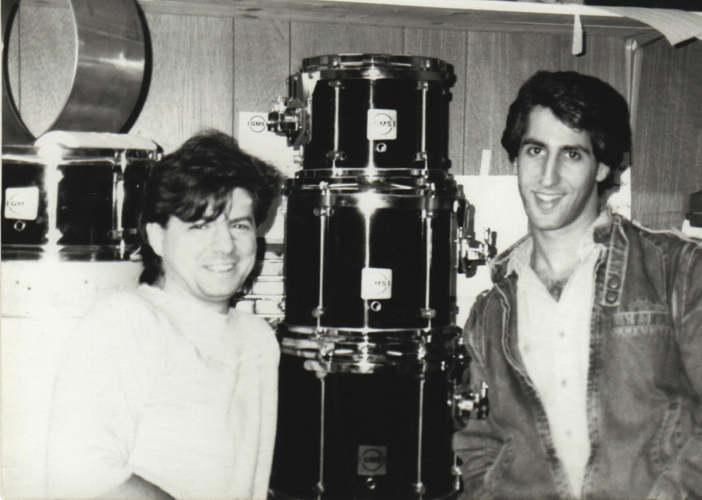 Tony and Rob in the early days of GMS