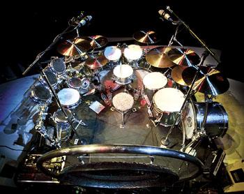 Alex Van Halen's Van Halen drumkit