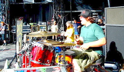 Drummer Vincent Fiorello of Less Than Jake