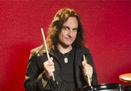 May 2012 Modern Drummer cover Vinny Appice