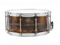 <b>Product Close-Up: Taye Specialty Walnut/Mahogany Hybrid and MetalWorks Vintage Brass Snares</b>