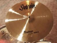 Soultone's Vintage Old School 1964 Series Cymbals