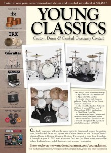 Young Classics Custom Drum & Cymbal Giveaway Contest