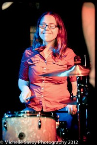Muncie Drummer Anna Cucciardo