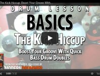VIDEO! The Kick Hiccup: Boost Your Groove With Quick Bass Drum Do...