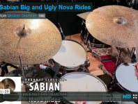 Click here to check out our video demos of Sabian's Big & Ugly collection!