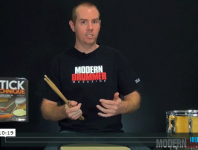 In the the pataflafla, the leading hand uses the Moeller whip-and-stop technique, and the secondary hand uses the no-chop flop-and-drop technique. Click here to find out more!