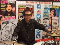 Modern Drummer Associate Editor Billy Amendola Appears on The Sho...