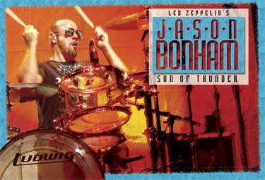 Led Zeppelin Drummer Jason Bonham