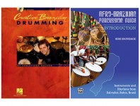 <b>Creative Brazilian Drumming by Christiano Galvão Afro-Brazilian Percussion Guide By Kirk Brundage</b>