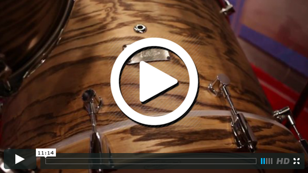 Canopus Drums at NAMM 2015 (VIDEO)