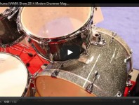 VIDEO - Canopus Drums NAMM Show 2014 New Gear Coverage