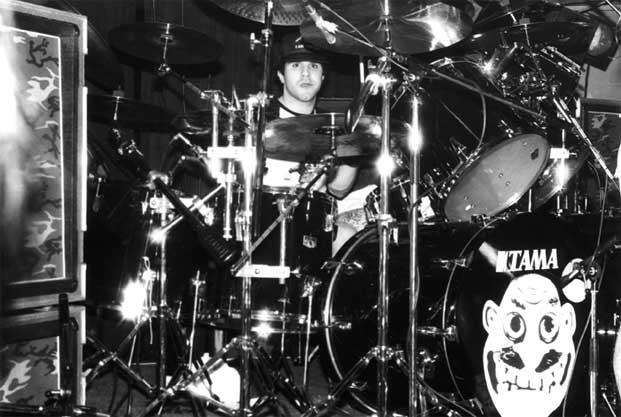 Drummer Charlie Benante