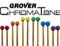 <b>Grover Pro now offering colored ChromaTone timpani mallets.</b>
